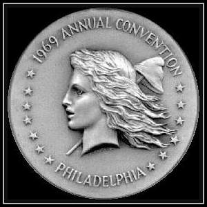 1969 ANA Convention Medal