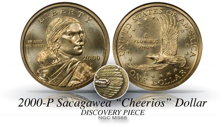 2000 Sacagawea Wounded Eagle