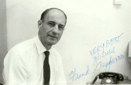 Autographed Photo of Frank Gasparro