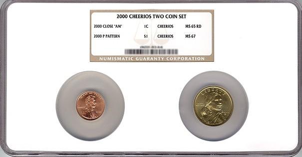 Sacagawea Cheerios Dollar